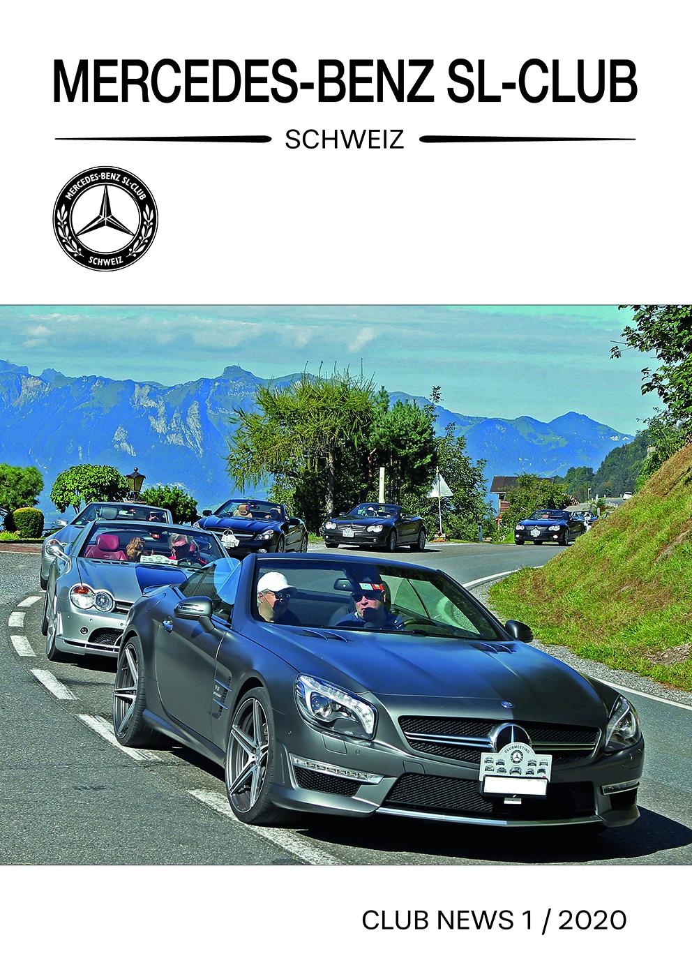 Mercedes-Benz SL-Club Schweiz Club News 1/2020
